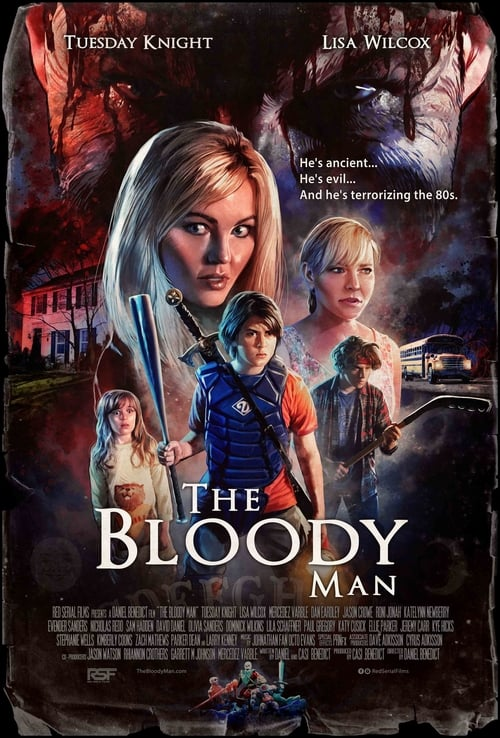 Movie poster of The Bloody Man