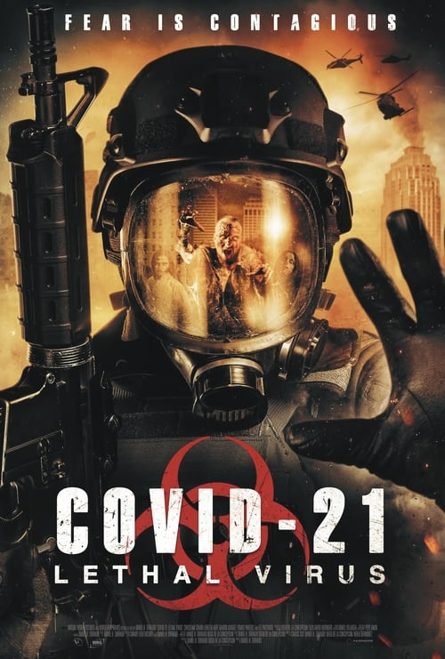 Movie poster of COVID-21: Lethal Virus