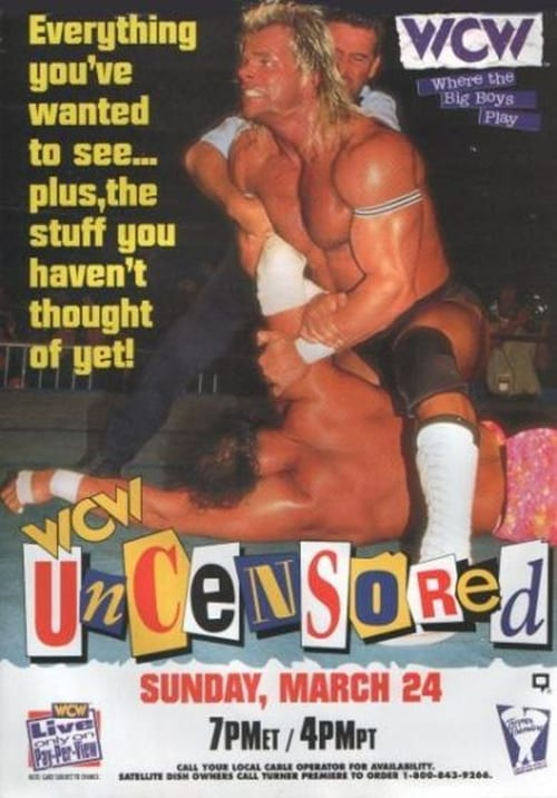 Movie poster of WCW Uncensored 1996