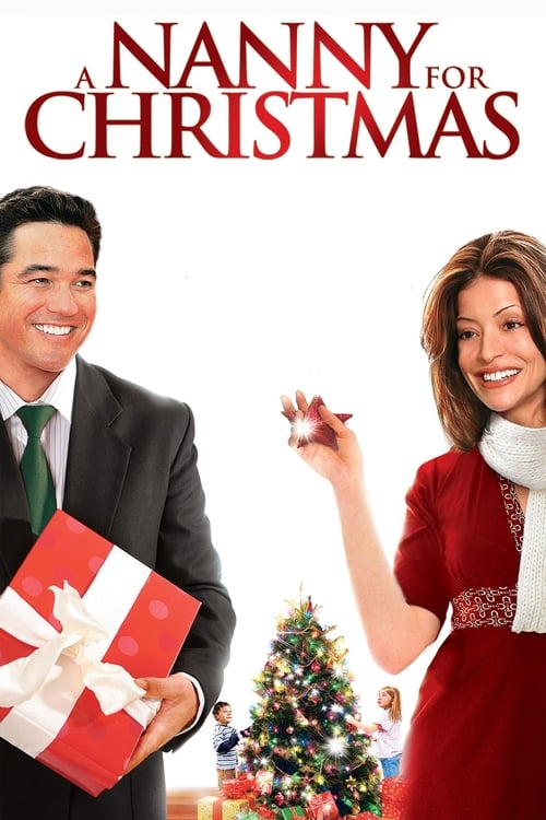 Movie poster of A Nanny for Christmas