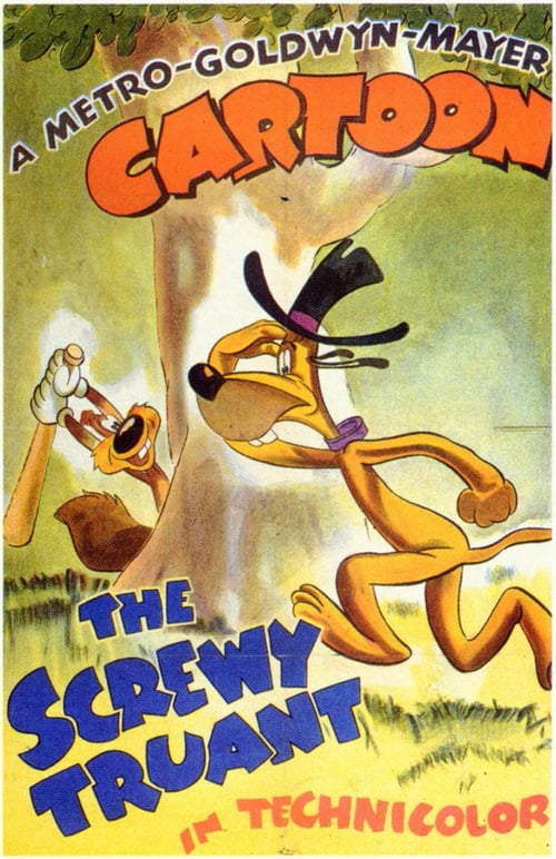 Movie poster of The Screwy Truant