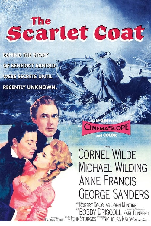 Movie poster of The Scarlet Coat