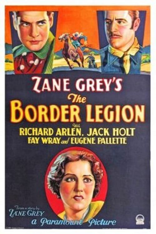Movie poster of The Border Legion