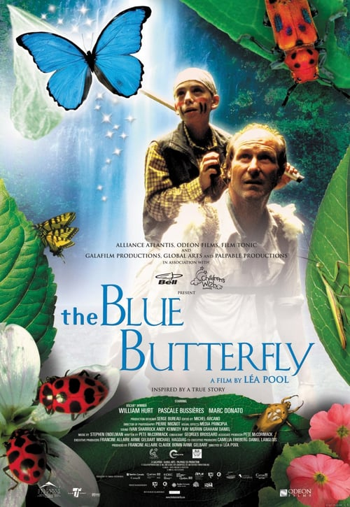 Movie poster of The Blue Butterfly
