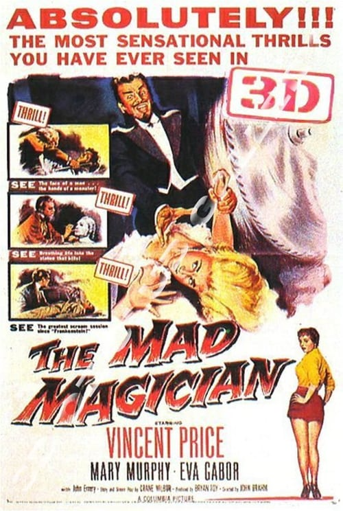 Movie poster of The Mad Magician