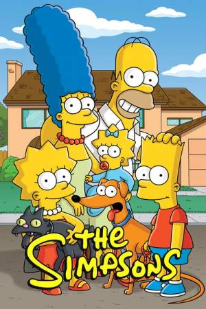 Poster of The Simpsons