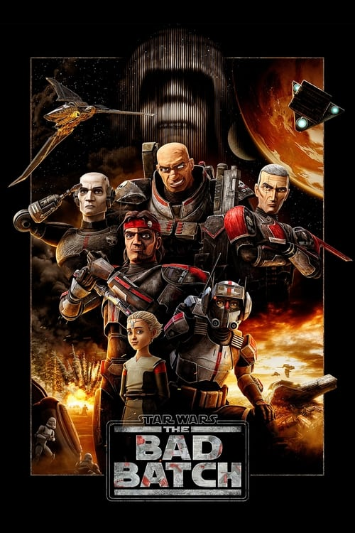 Poster of Star Wars: The Bad Batch